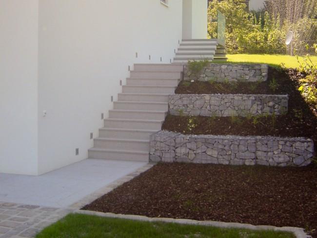 stein im garten kienesberger wohnen mit stein. Black Bedroom Furniture Sets. Home Design Ideas